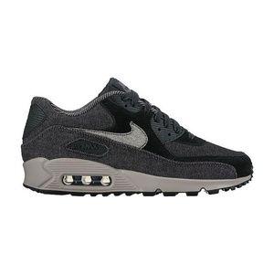hot sale online c050d a5655 Nike · Nike Air Max 90 SE Denim Women s sz 6 Black Grey